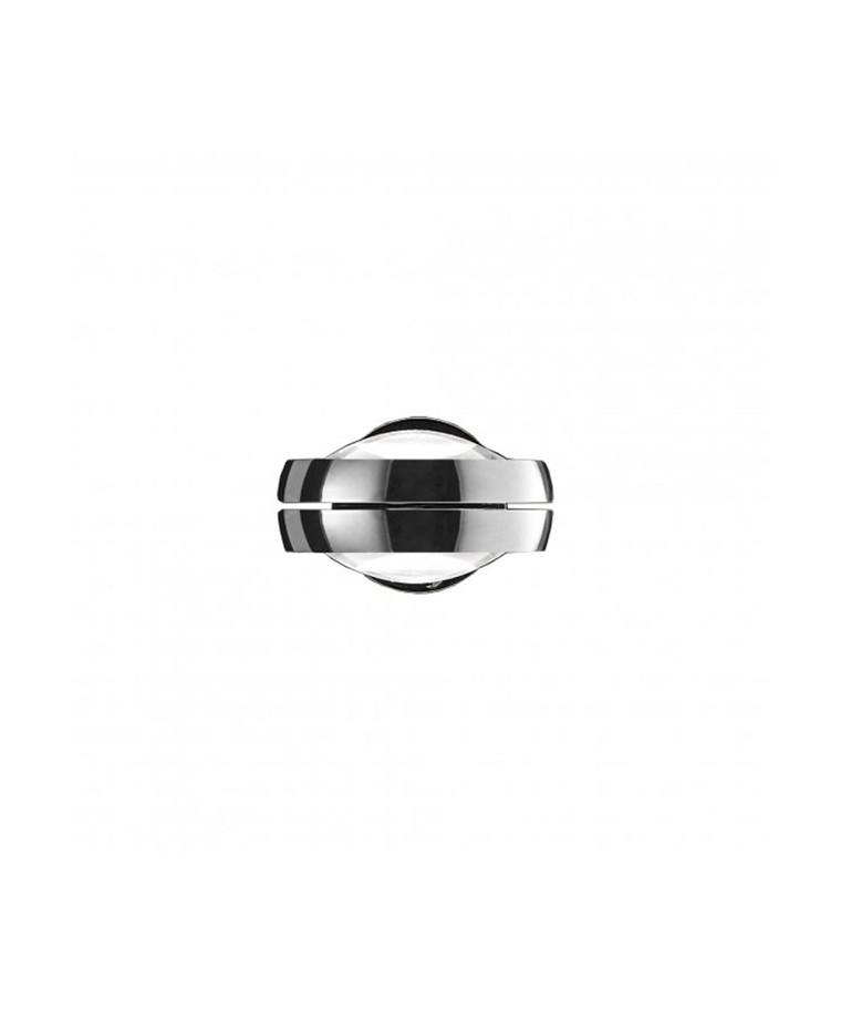 Nautilus Vägglampa Krom - Studio Italia Design
