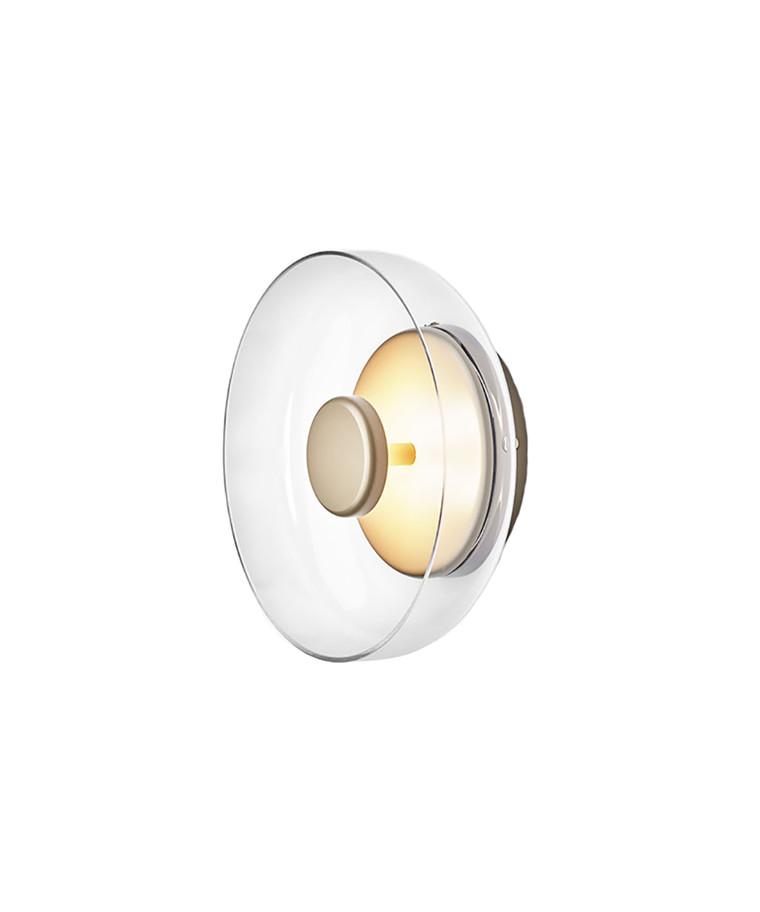 Blossi Vägglampa/Plafond Nordic Gold/Clear - Nuura