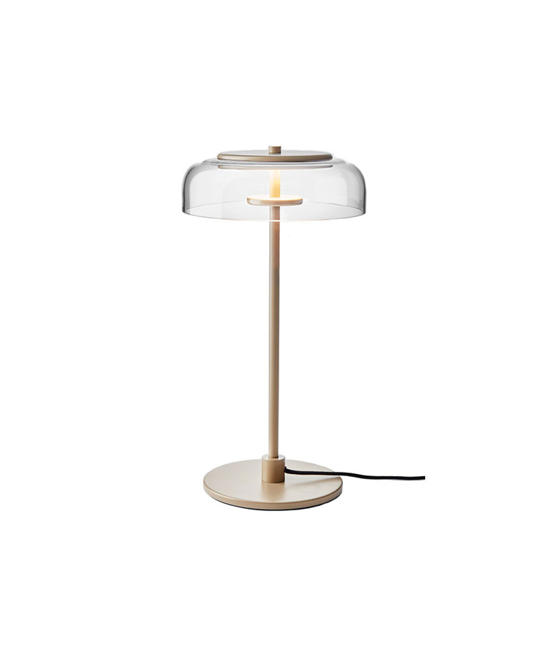 Blossi Bordlampe Nordic Gold/Clear - Nuura