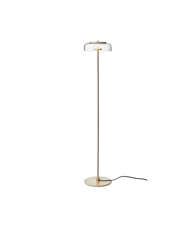 Blossi Gulvlampe Nordic Gold/Clear - Nuura