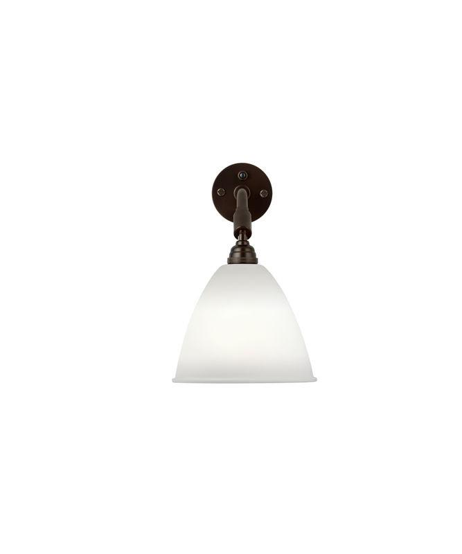 BL7 Væglampe Ø16 Sort Messing/Porcelæn - GUBI