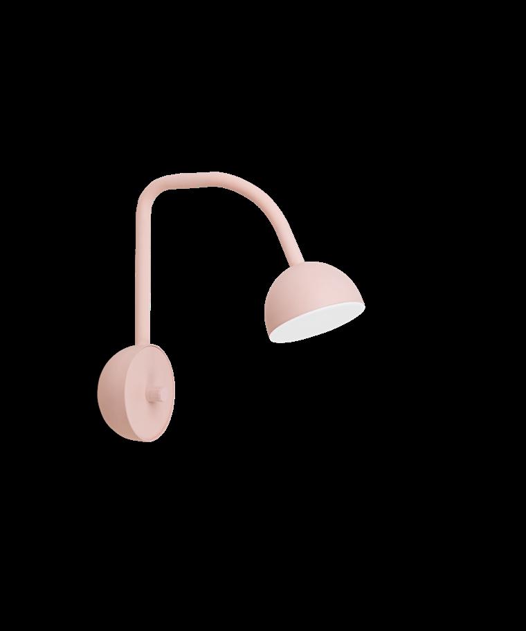 Blush Vägglampa Pink - Northern