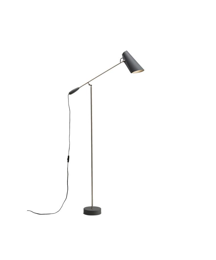 Birdy Gulvlampe Grå - Northern Lighting