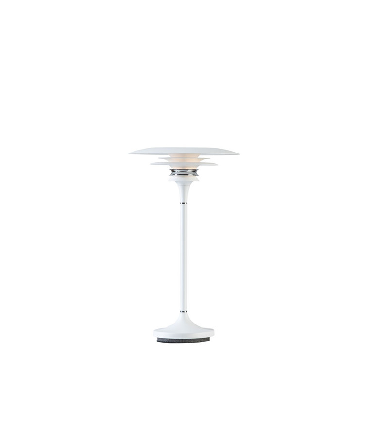 Diablo Bordlampe Ø20 Mat Hvid - Belid