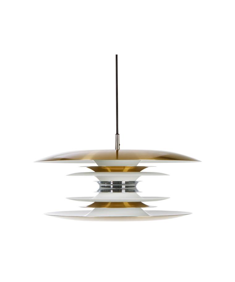 Diablo Pendel LED Dimmbar Ø50 Hvit/Messing - Belid