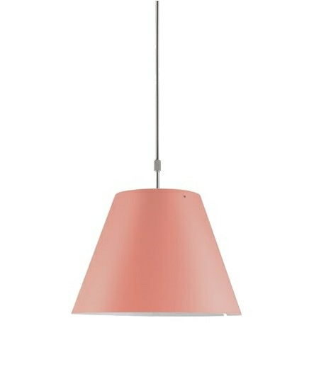 Costanza Pendel Edgy Pink - Luceplan