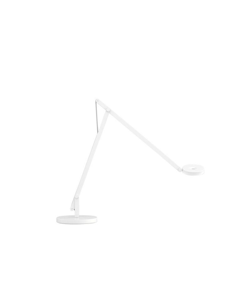 String T1 Bordlampe Hvid/Silver - Rotaliana