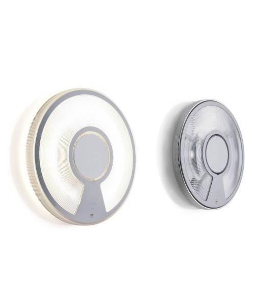 LightDisc Vägglampa/Plafond Ø320 u/Dimmer Transparent/Transparent - Luceplan