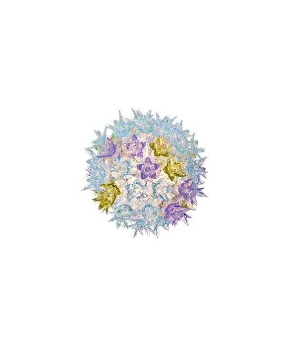 Bloom CW2 Wandleuchte/Deckenleuchte Lavendel - Kartell