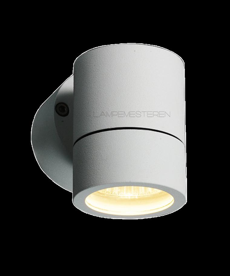 Turn 1 Utendørs Vegglampe Hvit - LIGHT-POINT