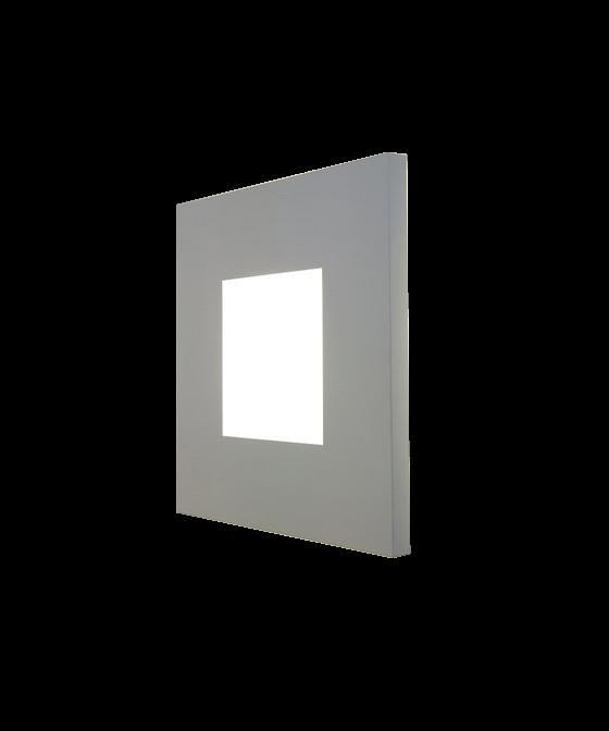 O-Size Væglampe Hvid - Embacco