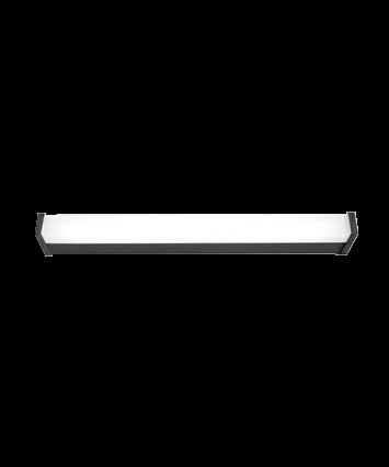 V.IP 44 Væglampe 620mm Antracit - Embacco