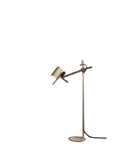 Scantling P73 Gulvlampe Hvid - Marset