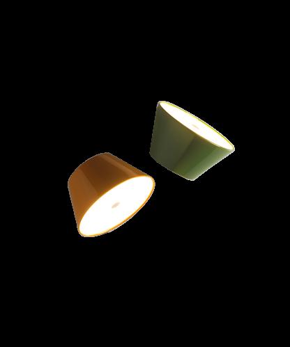 Tam Tam A2 Væglampe/Loftlampe Grøn/Sort - Marset