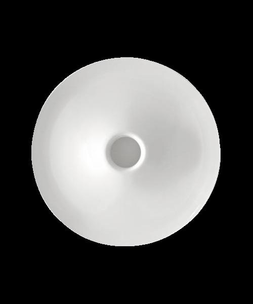 DesignCarlotta de Bevilacqua for Artemide  Koncept Lunarphase 450 er ved første øjekast en enkelt og organisk form der dog ved nærmere øjensyn disker op med meget mere indhold og innovation. Det diffuse lys der strømmer ud fra siderne oplyser loft- eller vægfladen i en 360 graders cirkel. Opbygningen gør at spredningen sker med et minimum af tab så lyset udnyttes optimalt og forbruget kan mindskes. Artemide fører en bredt program af lamper så der bør som hovedregel regnes med 2-3 ugers levering på disse eksklusive lamper, da det kan være svært at have alt hjemme.