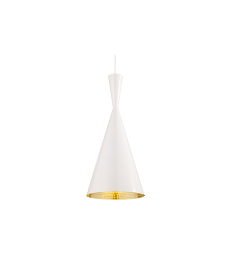 Beat Light Tall Hvid Pendel - Tom Dixon