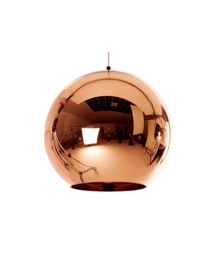 Copper Round Pendel Ø45 - Tom Dixon
