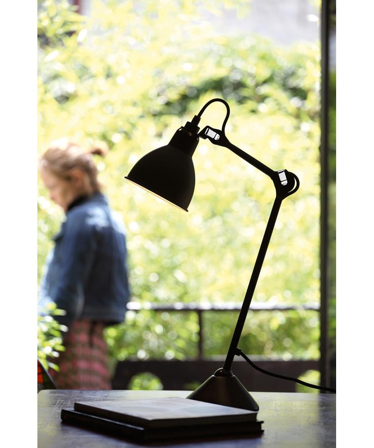 205 tischleuchte schwarz schwarz lampe gras. Black Bedroom Furniture Sets. Home Design Ideas