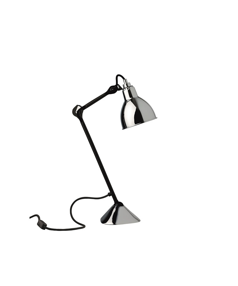 205 Bordlampe Sort/Krom - Lampe Gras