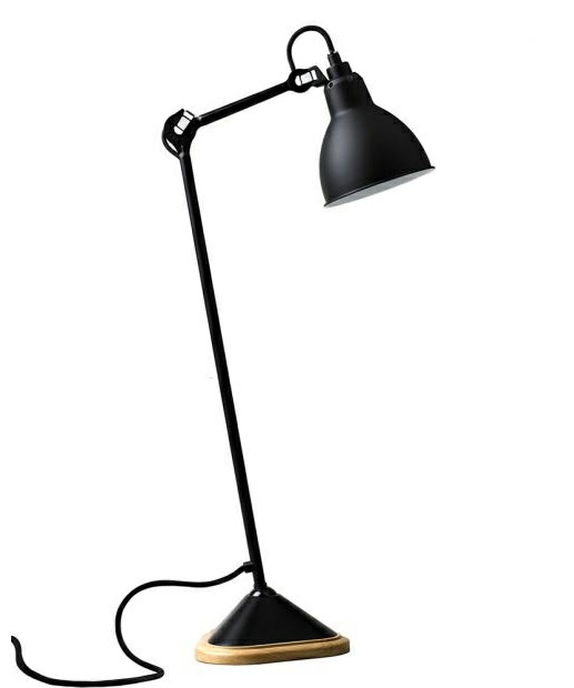 Image of   206 Bordlampe Sort - Lampe Gras