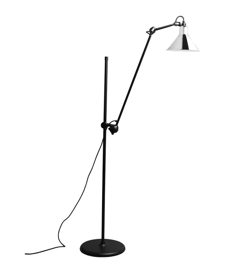 215 Golvlampa Krom - Lampe Gras