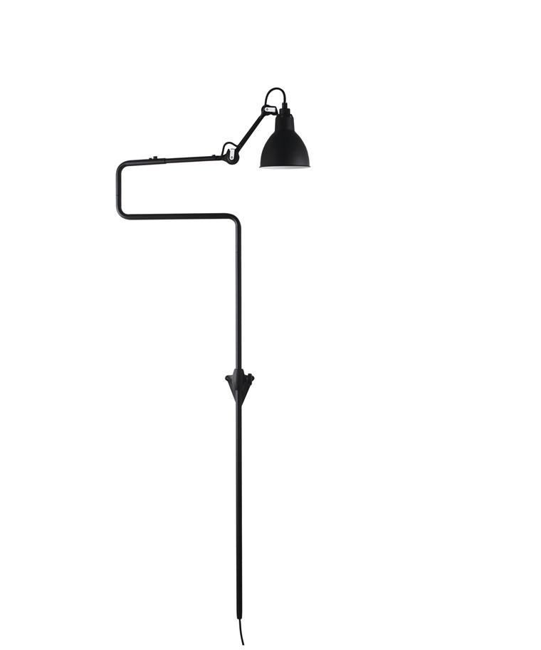 217 Vägglampa Svart - Lampe Gras