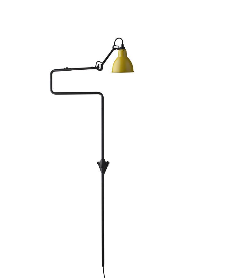 217 Vegglampe Gul - Lampe Gras