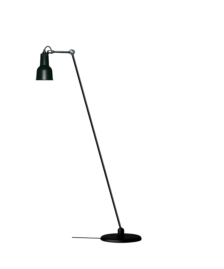 230 Gulvlampe Sort - Lampe Gras