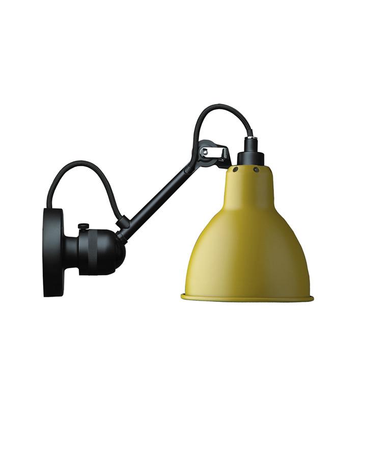 304 Væglampe Gul - Lampe Gras