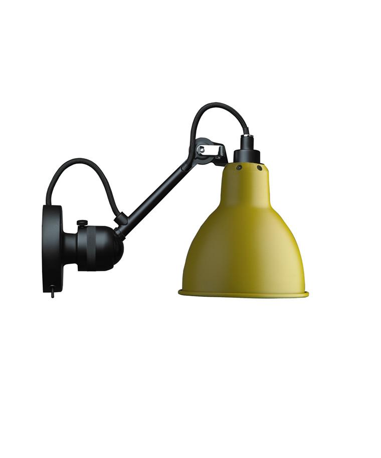 304SW Væglampe Gul - Lampe Gras