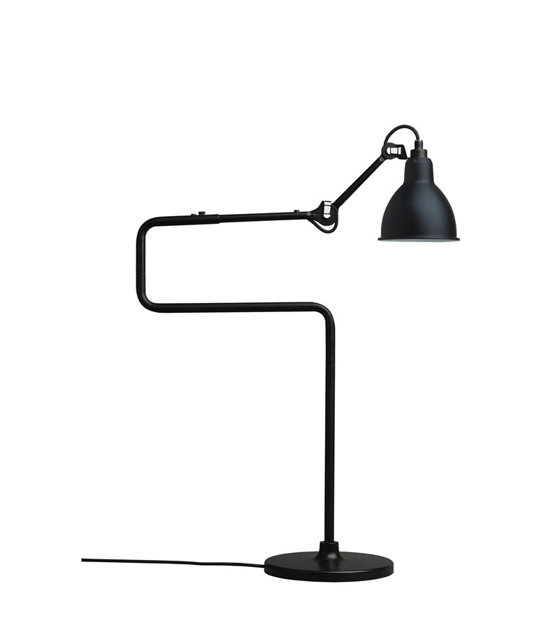 317 Bordlampe Sort - Lampe Gras