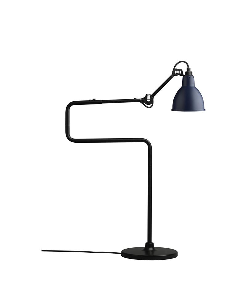 317 Bordlampe Blå - Lampe Gras