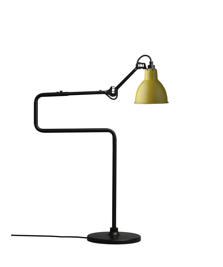 317 Bordlampe Gul - Lampe Gras