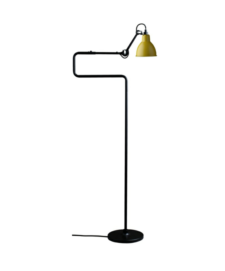 411 Gulvlampe Gul - Lampe Gras
