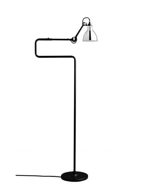 411 Krom Gulvlampe - Lampe Gras
