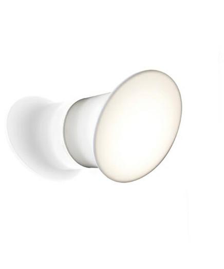 Ecran Außenleuchte Opal Weiß - Luceplan