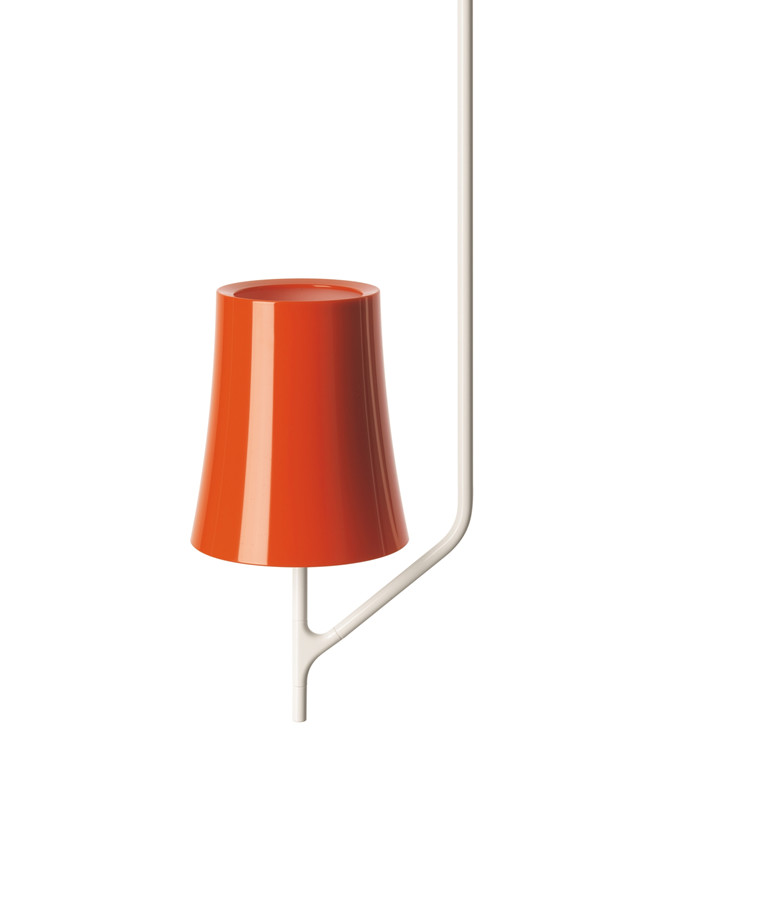 Birdie 1 Orange Taklampa - Foscarini
