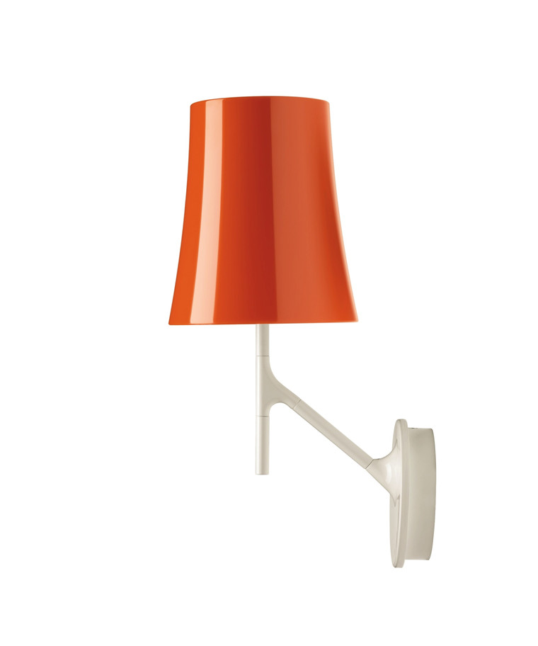 Birdie Væglampe Orange - Foscarini