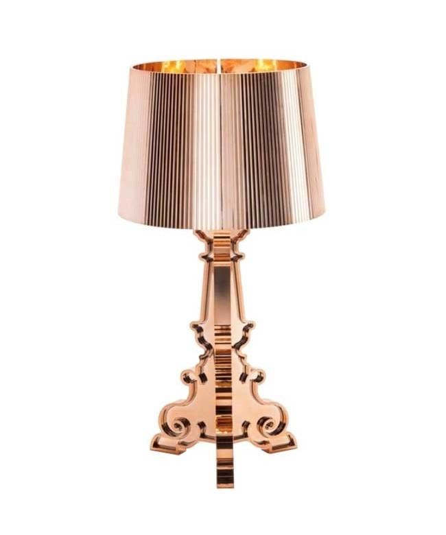 Bourgie Bordlampe Kobber - Kartell
