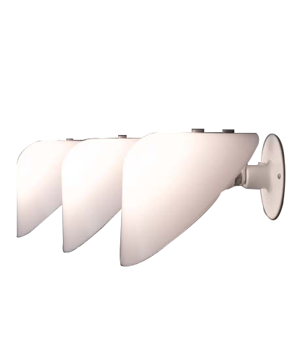 Mini VIP V025 Vägglampa Opal/Vit - Pandul