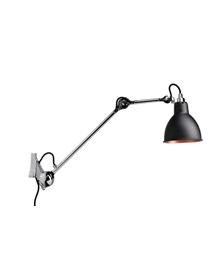 Udg 222 Væglampe Krom/Sort/Kobber - Lampe Gras