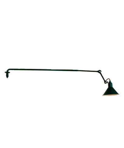 213 Væglampe Sort/Sort/Kobber - Lampe Gras