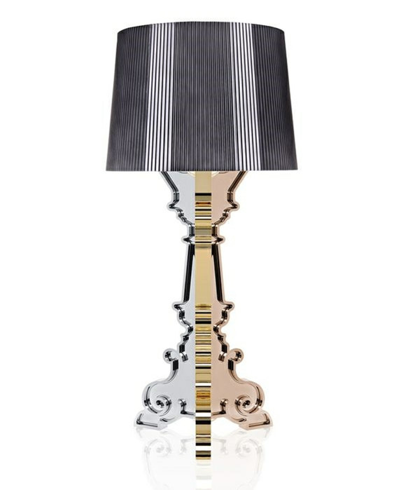 Bourgie Bordlampe Multicolored Titanium - Kartell