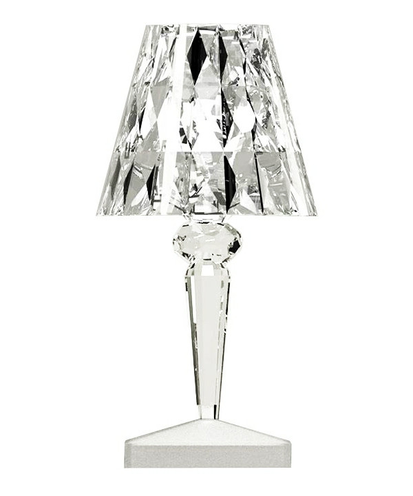 Battery Bordlampe Krystal - Kartell