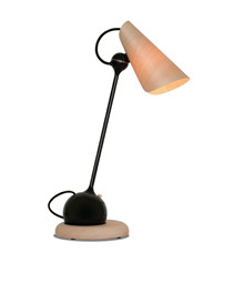 TR17 Bordlampe Sort/Naturel - Tom Rossau