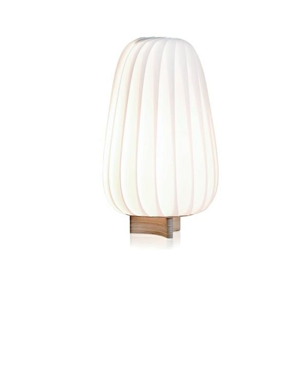 ST906 Bordlampe Lakeret Papir Hvid - Tom Rossau
