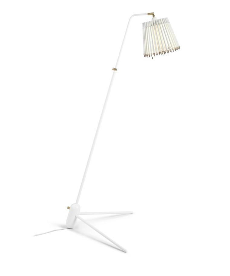 Pencil Gulvlampe Hvid/Hvid - Tom Rossau