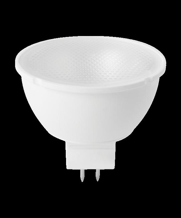 Producent MegamanKoncept Reflektor pære, som kan dæmpes.  Den har 260lm, hvilket svarer til ca. 25-40W. Den har et varmt lys med 2800 kelvin.  Hvis du har det lidt svært med det, med pærer, kommer der her en lille kort forklaring om de vigtigste ting, du skal være opmærksom på.  I dag bliver lysstyrken målt på lumen i stedet for watt. Du kan nogenlunde gå ud fra nedenstående.  15W = 140 lumen  25W = 250 lumen  40W = 470 lumen  60W = 800 lumen  75W = 1050 lumen  100W = 1520 lumen Derudover kan man også se på en pære, at der er oplyst en RA eller CRI værdi. Det er lysets evne til at gengive farver og det vurderes på en skala fra 0-100 RA.  100 RA giver den bedste farvegengivelse og det er det, man får fra dagslys.  Til et almindeligt hjem, skal man vælge pærer med en RA værdi på mere end 80.  Der vil også være oplyst en kelvingrad. Dette er lysets farve. En pære med en kelvingrad på 2.700 - 3.000 har et varmt lys.  4.000-4.5000 giver et neutral til køligt lys og er den mest optimale lysf