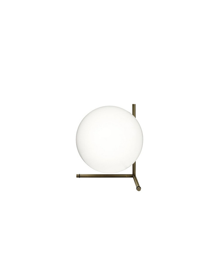 IC T2 Bordlampe Krom - Flos