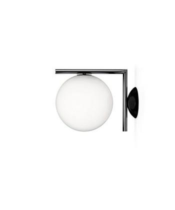 IC C/W1 Vegglampe/Taklampe Krom - Flos